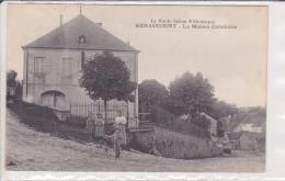 70. Renaucourt. Maison Commune TBE écrite N Et B - Other Municipalities