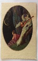 PIERROT CHE SUONA 1932 VIAGGIATA FP - Künstlerkarten
