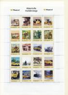 ÖSTERREICH Personalisierte Marke- Historische Postfahrzeuge - Bogen  - MNH - Österreich