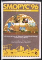 Viñeta SMOPYC 96. Zaragoza, Exposicion Maquinaria Obrass Publicas 1996 ** - Variedades & Curiosidades