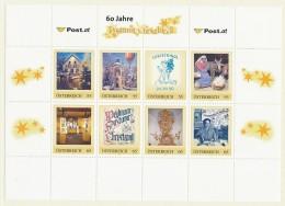 ÖSTERREICH Personalisierte Marke- 60 Jahre Postamt Christkindl - Bogen  - MNH - Personalisierte Briefmarken