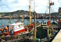 N°49846 -cpsm Cherbourg -bateau De Pêche- - Pesca