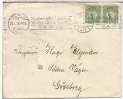SUECIA CC CON MAT RODILLO JUEGOS OLIMPICOS DE 1912 ESTOCOLMO