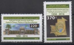 Mauritanie Mauretanien Mauritania 2016 Mi. ? Chambre De Commerce D'Industrie Et D'Agriculture Handelskammer 60 Ans ** - Mauritanie (1960-...)