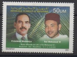 Mauritanie Mauretanien Mauritania 2004 Mi. IX Visite De S.M. Le Roi Mohamed VI Staatsbesuch UNISSUED / NON EMIS  ** - Mauritanie (1960-...)