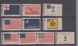 Etats Unis YV 848/7 N 1968  Drapeaux - Etats-Unis