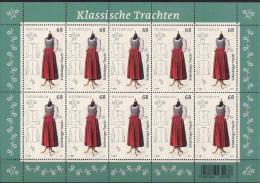 2016 Austria Mi. **MNH  Schärdinger Tracht - Blocks & Kleinbögen