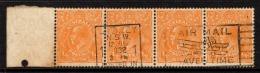 "Australia  1926   ""1/2d  Orange,  Perf 13.5 X 12.5""    X 4   VFU   (0) - Used Stamps"