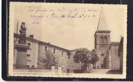 42 SAINT ROMAIN D'URFE PLACE DE L'EGLISE - Otros Municipios