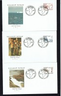 1984  Greenland Historical Artefacts  MiNr 148-150 - FDC