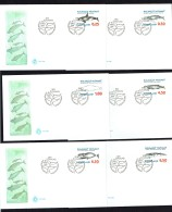1996  Whales Set Of 6  MiNr  287-292 - FDC