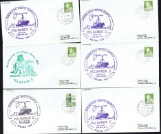 1969  MS Nanok S Greenland Arctic Supply  6 Different Ports Of Call PAQUEBOT - Greenland