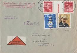 Berlin NN-Brief Mif Minr.434,438,Zdr. Minr.KZ3b Celle 27.10.72 - Berlin (West)