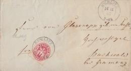 Preussen Brief EF Minr.16 K2 Bublitz 18.11.1867 - Preussen