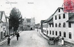 (A)  Allemagne   Hess  Oldendorf  Maarkplafz - Deutschland