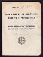 1912 . PORTUGAL - ÉCONOMIQUE AFFAIRE PORTUGAIS / SERVIÇOS POSTAIS DA CAIXA ECONÓMICA PORTUGUESA - Documenti Storici