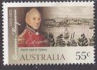 2010. AUSTRALIAN DECIMAL. Bicentenary: 55c. Governor Lachlan Macquarie. FU. - 2010-... Elizabeth II