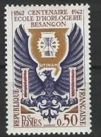 "FR YT 1342 "" Ecole D'horlogerie De Besançon "" 1962 Neuf** - France"