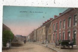 AULNOYE-AYMERIES RUE DE BERTAIMONT  (CARTE COLORISEE) - Aulnoye