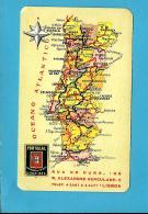 """COMPANHIA De SEGUROS """" PORTUGAL """" - 1956 - Pocket Calendar - Calendriers"""