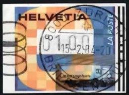 SWITZERLAND 2004 Machine Label Transport (loryy) 1f Used - Gebraucht