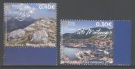 MONTENEGRO,MNH, 2014,TOURISM, SHIPS, YACHTS, MOUNTAINS, 2v - Ships