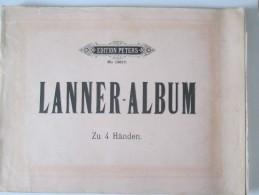 Lanner-Album: Valses Pour Piano A 4-Hands 4 Mains - Instruments à Cordes