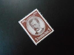 D.R.Mi 540ya - 3Pf** - Kolonialforscher - Wz 4 - 1934 - Germany