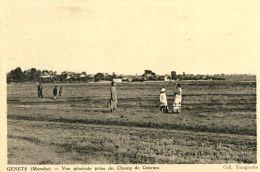 N°49900 -cpa Genets -vue Générale Prise Du Cham P De Course- - Autres Communes