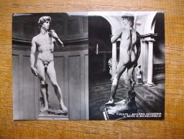 Firenze , Galleria Accademia Il David Di Michelangelo - Firenze (Florence)
