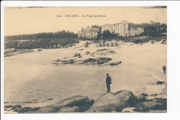 Carte De  Beg Meil   La Plage Des Dunes ( Recto Verso ) - Beg Meil