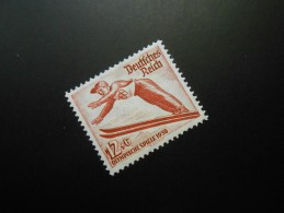 D.R.Mi 601X - 12+6Pf** - Olympische Winterspiele  1935 - Unused Stamps