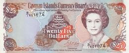 * CAYMAN ISLANDS 25 DOLLAR 1998 (1999) P-24 UNC [ KY204a ] - Cayman Islands