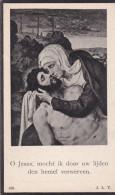 1861 1947 Jules Decorte Stephanie Lust Wingene Zevekote Pieta Doodsprentje Bidprentje Image Mortuaire - Images Religieuses