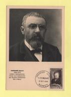 Carte Maximum - N°933 - Poincare - 1950-59