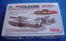 """Savoia S.21F Folgore 1/72 """" Porco Rosso """" Finemolds - Airplanes"""