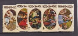 Cook Islands SG 310-314 1969 Christmas MNH - Cook Islands