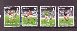 GIBRALTAR 1996 FOOTBALL  YVERT N°823/26  NEUF MNH** - Coupe Du Monde