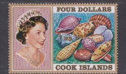 Cook Islands SG 484 1975 Shells $ 4.00 MNH - Cook