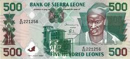 SIERRA LEONE 500 LEONES 1998 P-23b UNC [SL117b] - Sierra Leone