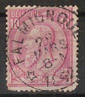 Nr. 46 Met ZELDZAME DEPOTS - RELAIS - Afstempeling FALMIGNOUL ; Staat Zie Scan !  Inzet Aan 5 € ! - 1884-1891 Léopold II