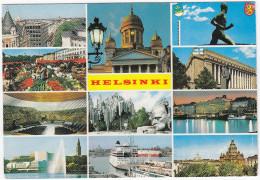 Helsinki - Multiview : 'VIKING LINE' Steamers Etc.  Finland / Suomi - Finland
