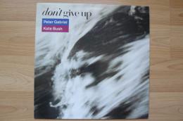 Peter Gabriel / Kate Bush - Don't Give Up - Pop Rock - Maxi 45T - 1987 - 45 Rpm - Maxi-Single