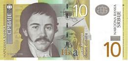 SERBIA 10 DINARA 2006 P-46a UNC [ RS406a ] - Serbia