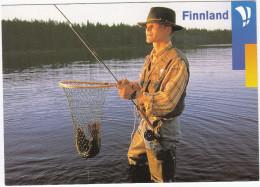 Salmon Fishing / Lachse  - 'Tausend Gute Gründe..., Kari Palsila'  - Finnland - Finland / Suomi - Finland