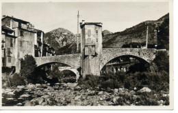 CPA - PHOTO -  SOSPEL - LE PONT VIEUX ET LA BEVERA - 34 - - Sospel