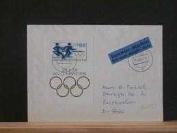 60/153  LETTRE DDR - Olympische Spelen