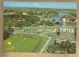 Jolie CP Brésil Récife Vue Partielle  Praça Do Derby - Stade De Foot Football - CAD Belo Horizonte 17-01-1987 / 3 Tp - Recife