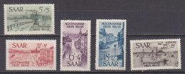 PGL DA146 - SARRE SAAR Yv N°244/47 + AERIENNE ** - 1947-56 Occupation Alliée
