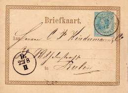 21 AUG 75 Bk G11 Van Rotterdam Naar Berlin - Postal Stationery